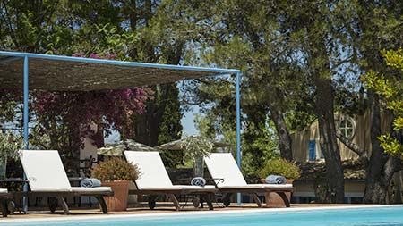 Fincapool auf Mallorca